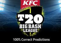 Big Bash Today Match Prediction