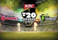 Sydney Thunder vs Melbourne Renegades live streaming